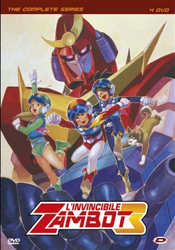 L' Invincibile Zambot 3 - The Complete Series (4 Dvd)