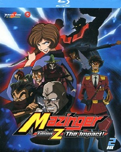 Mazinger Edition Z The Impact - Box 02 (2 Blu-Ray)