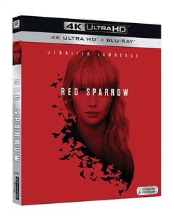 Red Sparrow (4k Ultra Hd+blu-Ray)