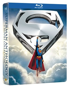 Superman Anthology (Ltd Steelbook) (5 Blu-Ray)