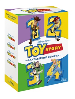 Toy Story Collection (4 Blu-Ray)