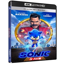 Sonic - Il Film (Blu-Ray 4k Ultra Hd+blu-Ray)