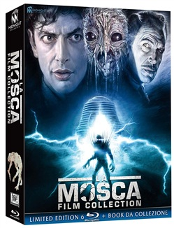 La Mosca - Film Collection (6 Blu-Ray+book)