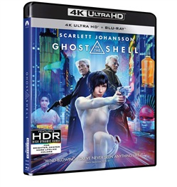 Ghost in the Shell (2 Blu-Ray: 4K UltraHD)