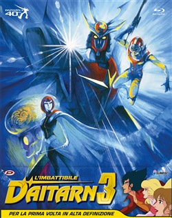 L' Imbattibile Daitarn 3 Box-Set (Eps.01-40) (5 Blu-Ray)