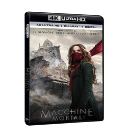 Macchine Mortali (Blu-Ray 4k Ultra Hd+blu-Ray)