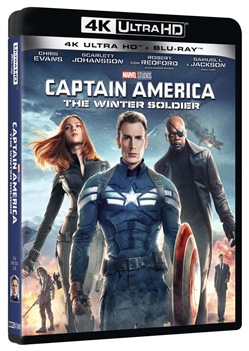 Captain America - The Winter Soldier (Blu-Ray 4k Ultra Hd+blu-Ray)
