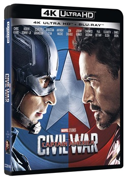 Captain America - Civil War (Blu-Ray 4k Ultra Hd+blu-Ray)