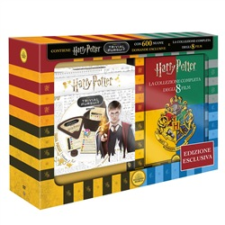 Cofanetto Harry Potter 1-8 con Trivial Pursuit Bitesize (8 DVD)