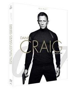 007 - Daniel Craig Collection (4 Blu-Ray)
