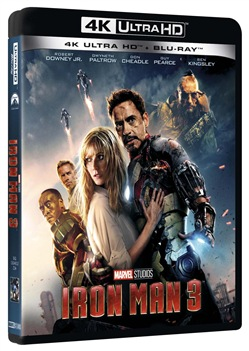 Iron Man 3 (Blu-Ray 4k Ultra Hd+blu-Ray)