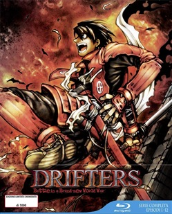 Drifters (Eps 01-12) (Limited Edition Box) (3 Blu-Ray)