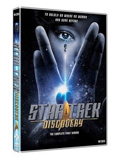 Star Trek: Discovery - Stagione 01 (4 Dvd)