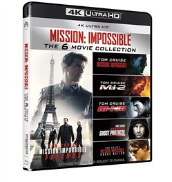 Image of Mission Impossible Collection (6 Blu-Ray 4k Ultra Hd+7 Blu-Ray)