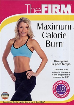 Image of The Firm - Maximum Calorie Burn (Dvd+booklet)