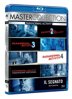 Paranormal Activity Master Collection (5 Blu-Ray)