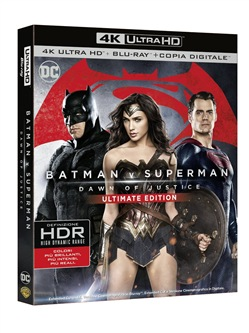Batman V Superman - Dawn Of Justice (Blu-Ray 4k Ultra Hd+blu-Ray+copia Digitale)