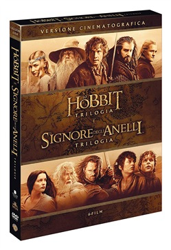 Signore degli Anelli / Hobbit - 6 Film Theatrical Version (6 Dvd)