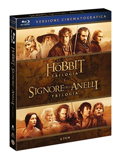 Signore degli Anelli / Hobbit - 6 Film Theatrical Version (6 Blu-Ray)