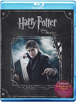 Harry Potter e I Doni della Morte - Parte 01 (Blu-Ray+e-Book)