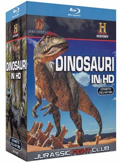Dinosauri In Hd - Jurassic Fight Club (5 Blu-ray)
