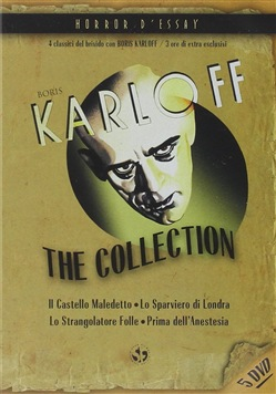 Boris Karloff Collection (5 Dvd)