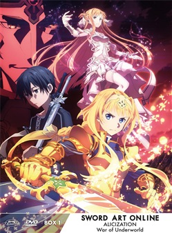 Sword Art Online Alicization War Of Underworld - Ltd Box #01 (Eps 01-12) (3 Dvd)