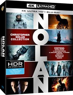 Image of Christopher Nolan Collection (7 Blu-Ray 4k Uhd+7 Blu-Ray+5 Dvd)