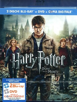 Harry Potter e I Doni della Morte - Parte 02 (2 Blu-Ray+dvd+copia Digitale)