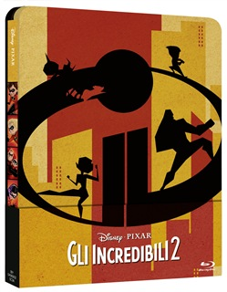 Gli Incredibili 2 (Blu Ray 2d+disco Bonus) (Steelbook)