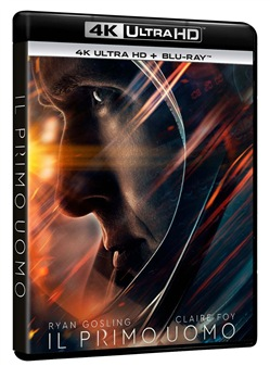 First Man: Il Primo Uomo (Blu-Ray 4k Ultra Hd+blu-Ray)