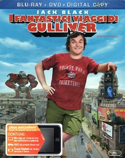 I Fantastici Viaggi di Gulliver (Blu-Ray+dvd+digital Copy)