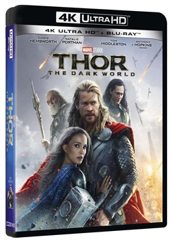 Thor - The Dark World (Blu-Ray 4k Ultra Hd + Blu Ray)