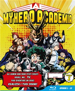 My Hero Academia - Stagione 01 (Eps 01-13) (Ltd Edition) (3 Blu-Ray)