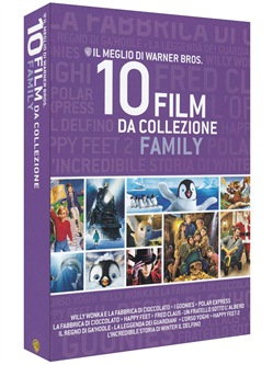 Warner Bros. - 10 Film da Collezione Family (10 Blu-Ray)