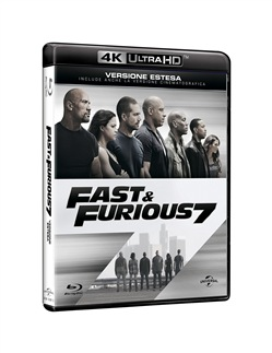 Image of Fast And Furious 7 (Blu-Ray 4k Ultra Hd+blu-Ray)