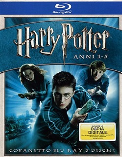 Harry Potter Box Set (Special Edition) (5 Blu-Ray)