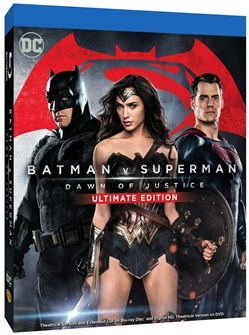 Batman V Superman - Dawn Of Justice (Ultimate Edition) (2 Blu-Ray)