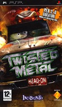 Twisted Metal Head On Psp