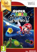 Super Mario Galaxy Select Wii