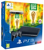 Console Ps3 12gb + Fifa World Cup 2014