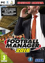 Football Manager 2016 Ltd. Ed. Pc