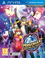 Persona 4: Dancing All Night Psvita