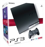 Console Sony Ps3 Slim 120gb Black