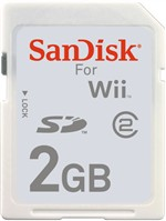 Sandisk Sd Card Memory 2 Gb Wii/dsi