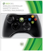 Controller Wireless Black New Xbox360