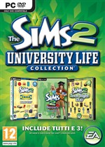 The Sims 2 University Life Collection Pc