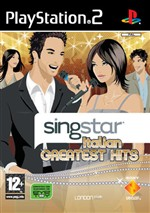 Singstar Italian Greatest Hits Sw Ps2