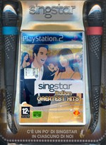 Singstar Italian Greatest Hits + Mic Ps2