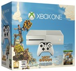 Console Xbox One Bianca + Sunset Overdr.